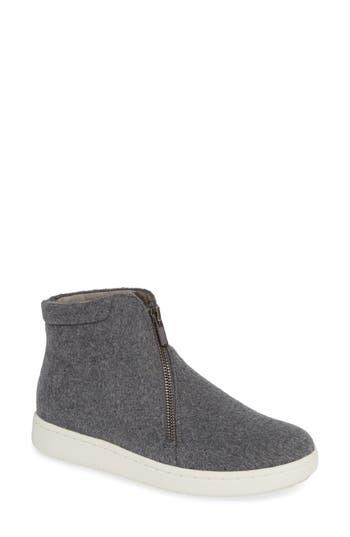 Eileen Fisher Bias Zip Sneaker, Grey
