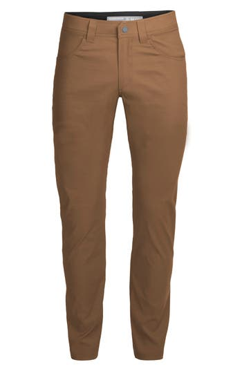 Icebreaker Persist Straight Pants, Brown