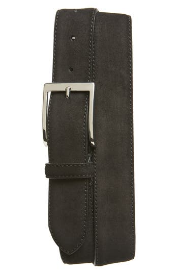 To Boot New York Suede Belt, Black