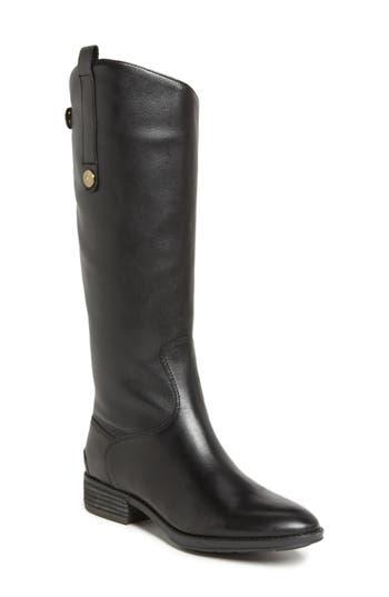 Sam Edelman Penny Boot Wide Calf- Black