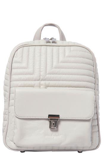 Essential Vegan Leather Backpack - Grey