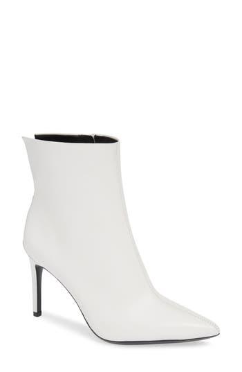 Calvin Klein Revel Stiletto Bootie, White