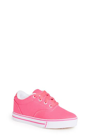 Girl's Heelys 'Launch' Canvas Sneaker