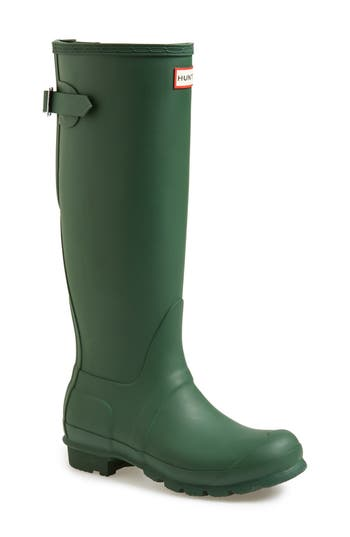 Hunter Adjustable Calf Rain Boot, Green