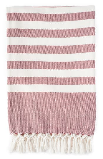 Zestt Stripe Throw, Size One Size - Red