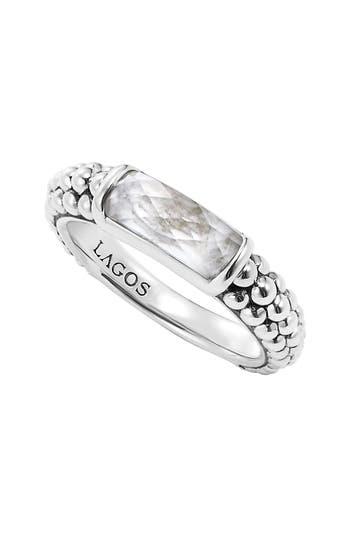Women's Lagos 'Maya' Stackable Caviar Ring