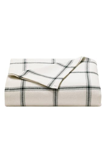 Nautica 'Halstead' Windowpane Plaid Blanket, Size Full/Queen - Blue