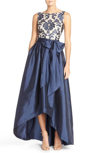 1950s Prom Dresses & Party Dresses Taffeta Ballgown Size 8P - Blue $249.00 AT vintagedancer.com