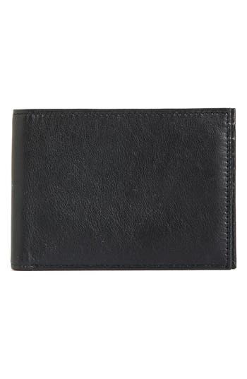 Bosca Id Passcase Wallet - Black