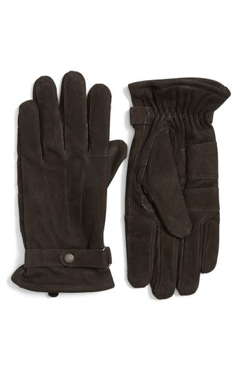 Men's Barbour Leather Gloves