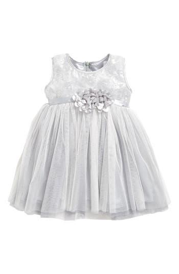 Infant Girl's Popatu Empire Waist Tulle Dress