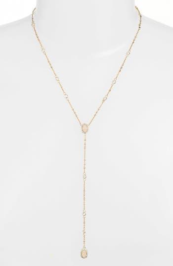 Women's Kendra Scott 'Claudia' Crystal Y-Necklace