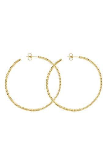 Women's Lagos 18K Large Hoop Earrings