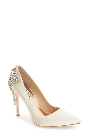 Women's Badgley Mischka 'Gorgeous' Crystal Embellished Pointy Toe Pump