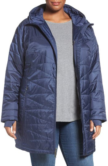 Plus Size Columbia Mighty Lite Hooded Jacket