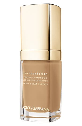 Dolce & gabbana Beauty Perfect Luminous Liquid Foundation - Caramel 110