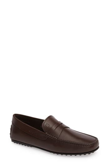 Men's Tod's 'City' Penny Driving Shoe