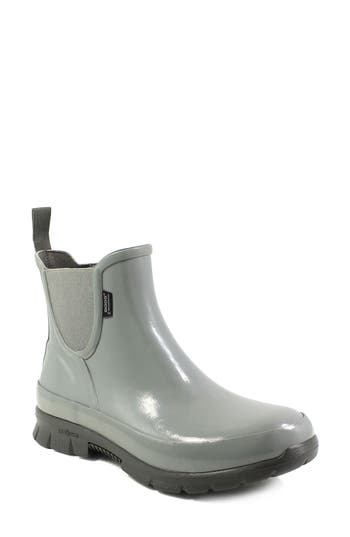 Bogs Amanda Waterproof Rain Boot, Grey