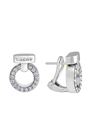 Women's Lagos 'Enso - Circle Game' Diamond Stud Earrings