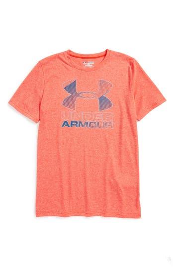 Boy's Under Armour Big Logo Hybrid 2.0 Heatgear T-Shirt