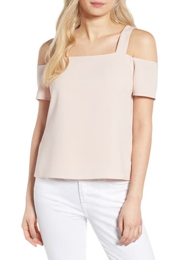 Women's Cooper & Ella Ava Cold Shoulder Top, Size X-Small - Pink