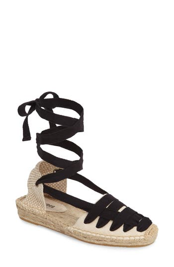 Women's Soludos Lace-Up Espadrille Sandal