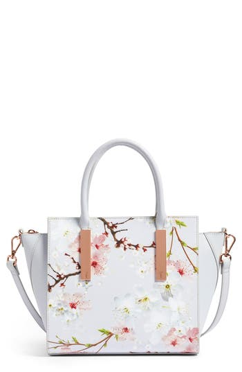 Ted Baker London Blossom Leather Tote -