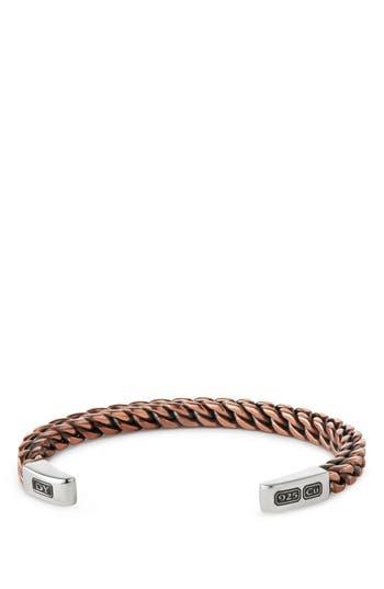 Men's David Yurman Woven Cuff Bracelet