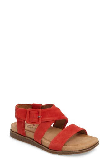 Comfortiva Andria Sandal, Red