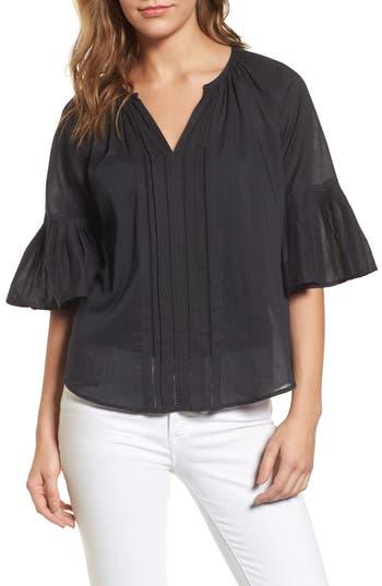 Women's Velvet By Graham & Spencer Bell Sleeve Cotton Blouse