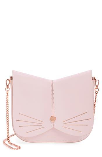 Ted Baker London Cat Leather Crossbody Bag -