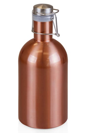 Picnic Time 64-Ounce Stainless Steel Growler, Size One Size - Metallic