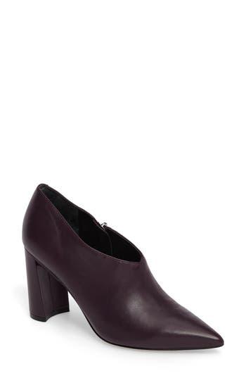 Marc Fisher Ltd Hoda Pointy Toe Bootie- Burgundy