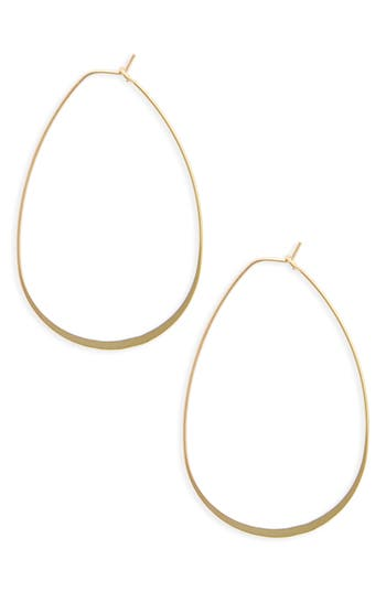 Women's Bp. Flat Oval Hoop Earrings