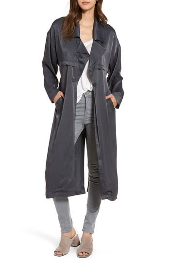 Women's Leith Satin Trench Coat