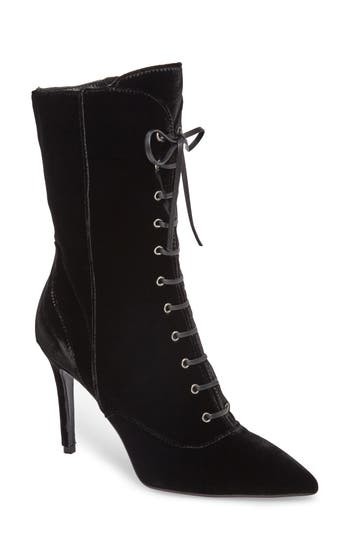 Charles David Loretta Pointy Toe Bootie Black