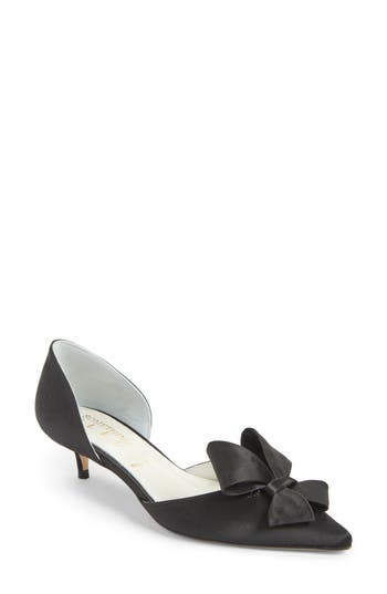 Women's Something Bleu Cliff Bow D'Orsay Pump