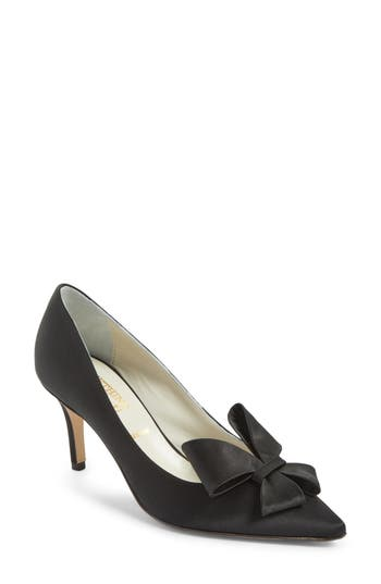 Women's Something Bleu Caitlin Bow Pointy Toe Pump