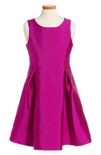 Girl's Soprano Fit & Flare Dress, Size S (8-10) - Purple