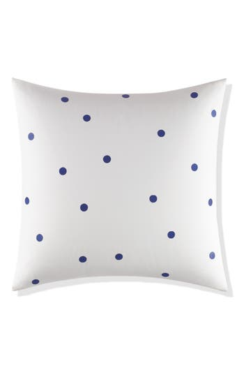 Kate Spade New York Deco Dot Euro Sham, Size One Size - Blue
