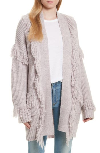 Women's Rebecca Minkoff Berea Fringe Cardigan Sweater