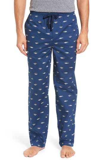 Men's Nordstrom Men's Shop Poplin Lounge Pants