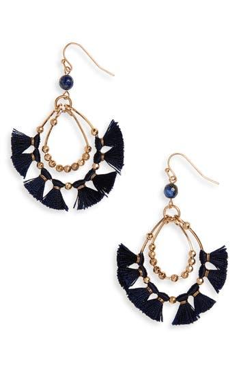 Women's Panacea Tassel Hoop Earrings