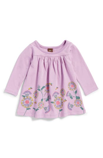 Infant Girl's Tea Collection Thistle Print Dress