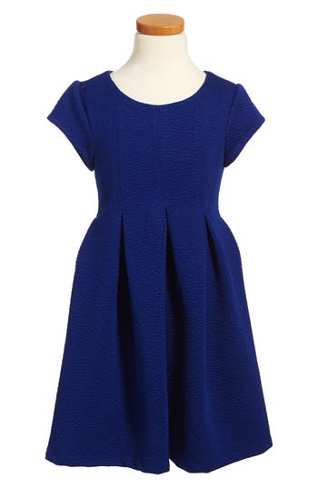 Toddler Girl's Iris & Ivy Pleated Knit Dress