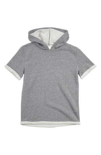 Boy's Treasure & Bond Hooded Short Sleeve Sweatshirt