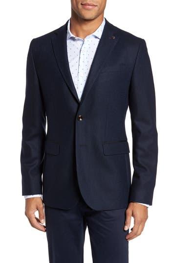 Men's Ted Baker London Modern Slim Fit Herringbone Blazer
