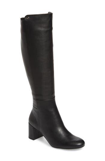 Taryn Rose Carolyn Tall Boot- Black
