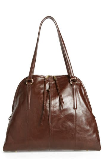 Hobo Delaney Calfskin Leather Tote - Brown