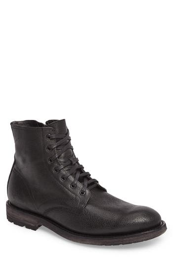 Frye Bowery Plain Toe Boot, Black